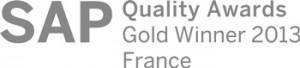 CEREALOG remporte le trophée GOLD au SAP Quality Awards - ERP Cloud SAP Business ByDesign