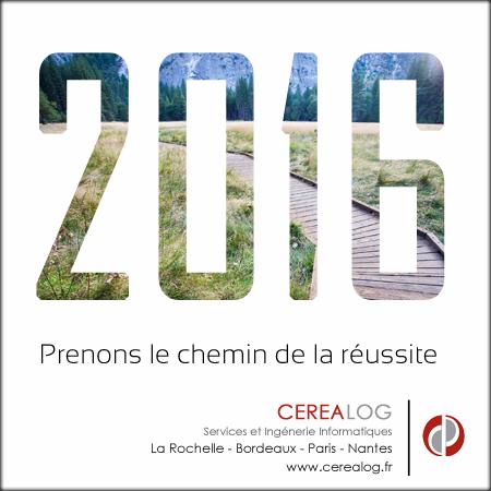 CEREALOG vous souhaite une bonne année 2016