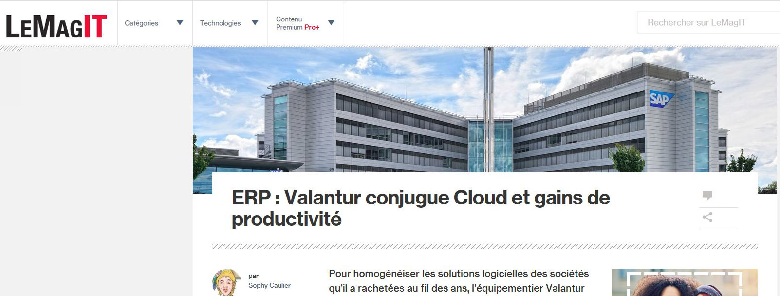 VALANTUR ERP CLOUD