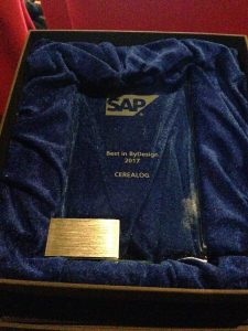 trophee SAP Business Bydesign