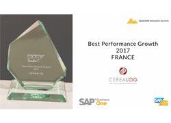 trophée meilleure croissance SAP Business One