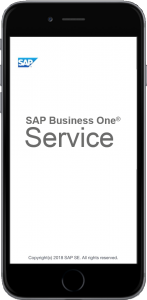 application mobile sap business one