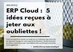ERP Cloud idées reçues