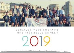 Bonne année 2019 CEREALOG