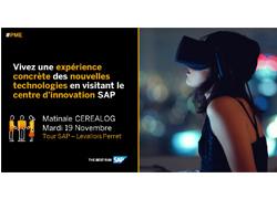 Invitation centre d'innovation SAP
