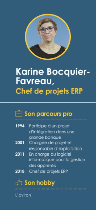 Karine spécialiste start-up