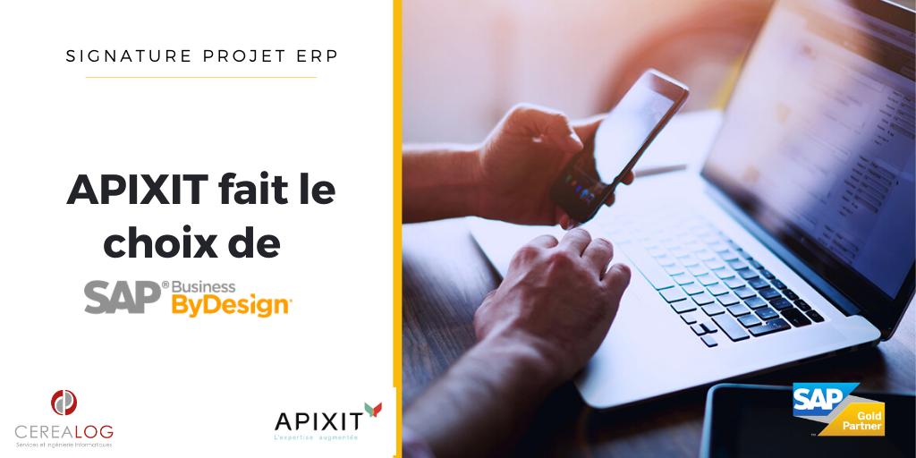 APIXIT nouveau client SAP Business ByDesign