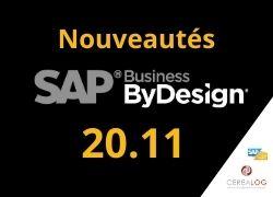 SAP Business ByDesign 20.11 nouveautés